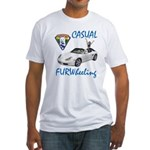 Casual FURWheeling Fitted T-Shirt