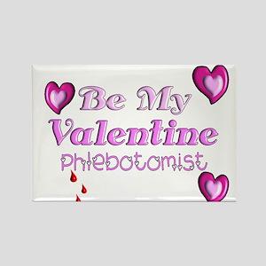 Medical Valentine's Rectangle Magnet