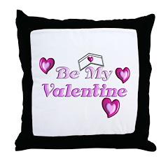 Medical Valentine's Throw Pillow