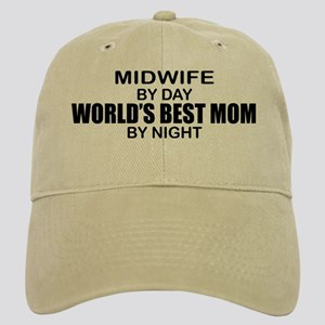 World's Best Mom - MIDWIFE Cap