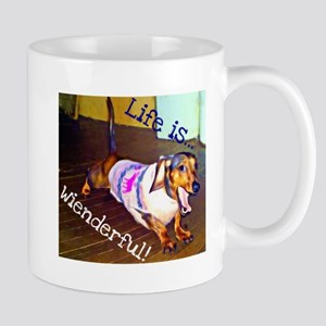 Dashing Doxie Mug