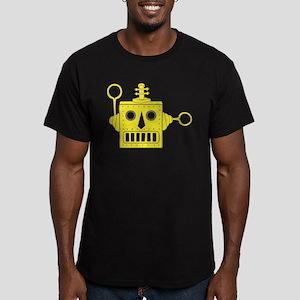 Toy Robot Men's Fitted T-Shirt (dark)