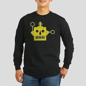 Toy Robot Long Sleeve Dark T-Shirt