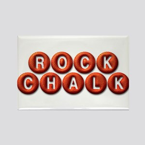 Rock Chalk BB Rectangle Magnet