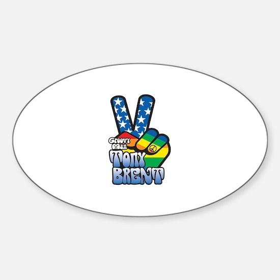 Cute Brent Sticker (Oval)