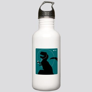 T-Rex Tunes (teal) Stainless Water Bottle 1.0L