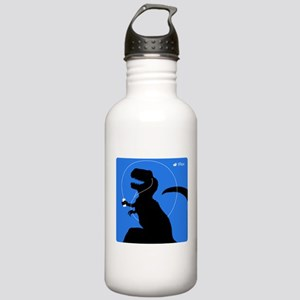 T-Rex Tunes (blue) Stainless Water Bottle 1.0L