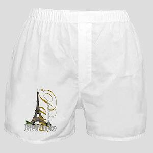 Paris, France - Boxer Shorts