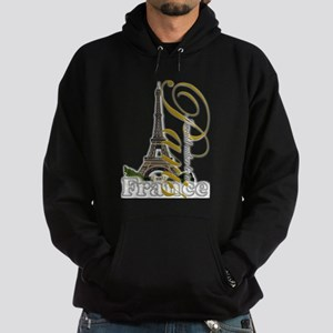 Paris, France - Hoodie (dark)
