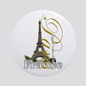 Paris, France - Ornament (Round)
