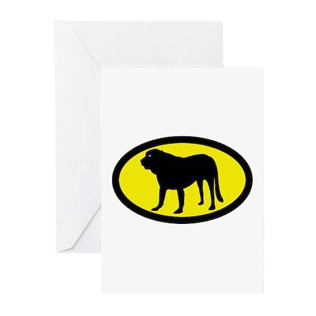 Spanish Mastiff Greeting Cards (Pk of 10)