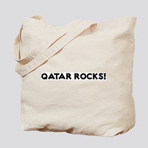 Qatar Rocks! Tote Bag