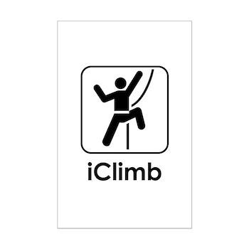 iClimb Mini Poster Print
