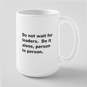Quote Large Mug