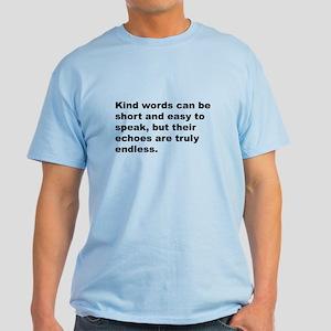 Quote Light T-Shirt