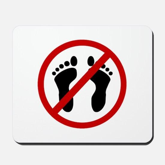 Anti Bare Feet Mousepad