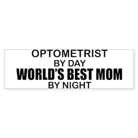 World's Best Mom - OPTOMETRIST Sticker (Bumper)