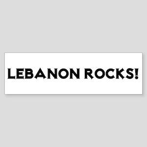 Lebanon Rocks! Bumper Sticker