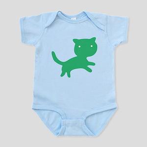 ColorKats (green) Infant Bodysuit