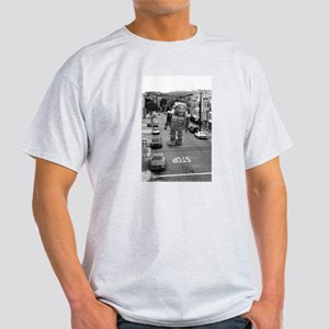 Robots in the Streets Light T-Shirt