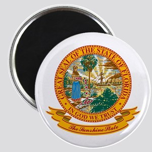 Florida Seal Magnet