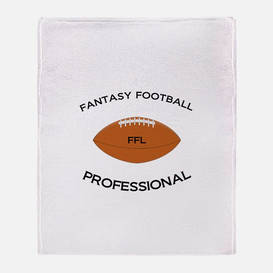 Fantasy Football Professional Throw Blanket