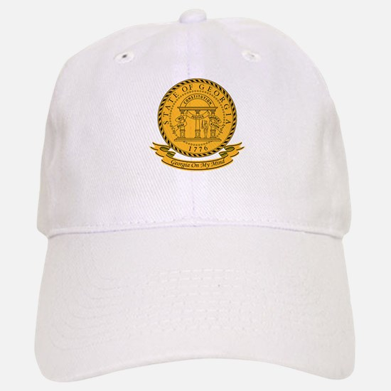Georgia Seal Baseball Baseball Cap