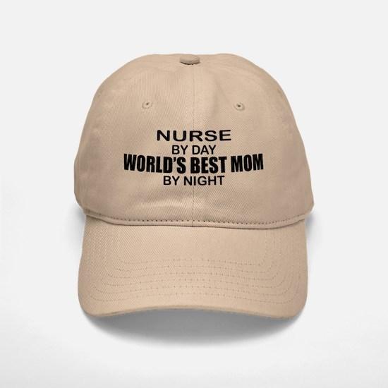 World's Best Mom - NURSE Baseball Baseball Cap