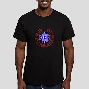 christmahanakwanzika Men's Fitted T-Shirt (dark)