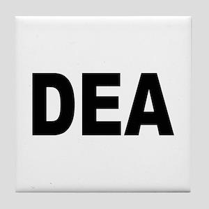 DEA Drug Enforcement Administration Tile Coaster