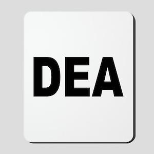 DEA Drug Enforcement Administration Mousepad