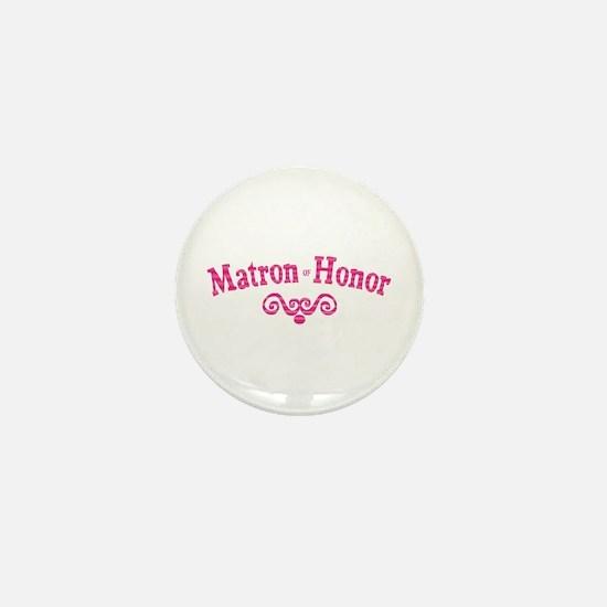 Matron of Honor Mini Button