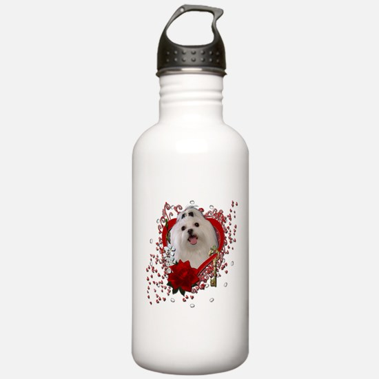 Valentines - Key to My Heart Water Bottle