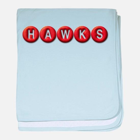 Hawks BB baby blanket