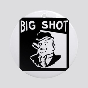 Big Shot Ornament (Round)