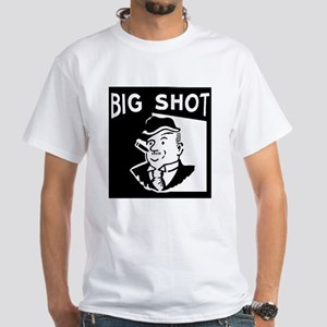 Big Shot White T-Shirt