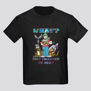 Too Many Pets ? Kids Dark T-Shirt