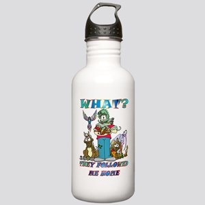 Too Many Pets ? Stainless Water Bottle 1.0L