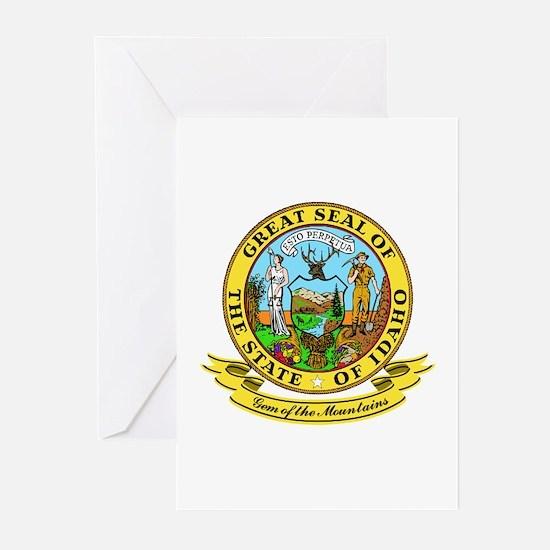 Idaho Seal Greeting Cards (Pk of 10)