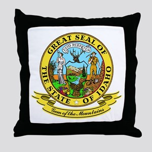 Idaho Seal Throw Pillow