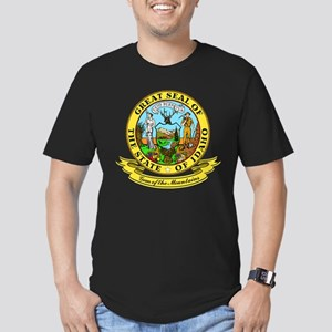 Idaho Seal Men's Fitted T-Shirt (dark)