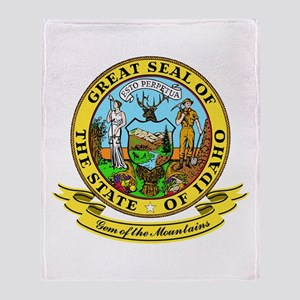 Idaho Seal Throw Blanket