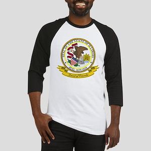 Illinois Seal Baseball Jersey