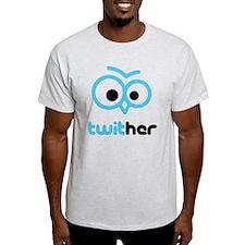 Twit Her Light T-Shirt