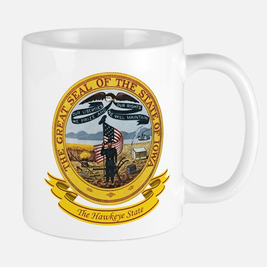 Iowa Seal Mug