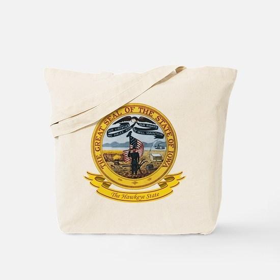 Iowa Seal Tote Bag