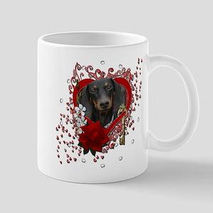 Valentines - Key to My Heart Mug