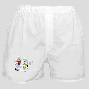 Croquet Cats Boxer Shorts