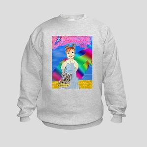 Over The Rainbow Kids Sweatshirt