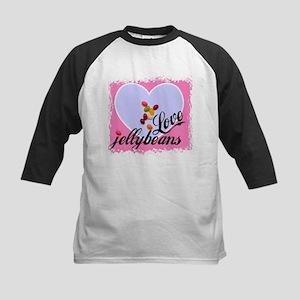 LOVE JELLYBEANS Kids Baseball Jersey